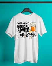 Nurse - Medical Advice for Beer Classic T-Shirt lifestyle-mens-crewneck-front-3