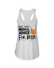 Nurse - Medical Advice for Beer Ladies Flowy Tank thumbnail