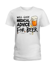 Nurse - Medical Advice for Beer Ladies T-Shirt thumbnail