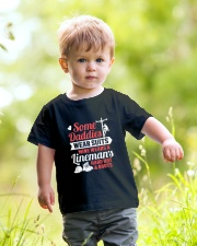 Lineman's Hard Hat And Boots Youth T-Shirt lifestyle-youth-tshirt-front-5