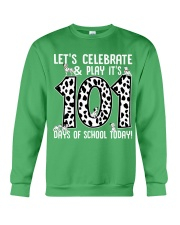 Teacher  - 101 Days of School Crewneck Sweatshirt thumbnail
