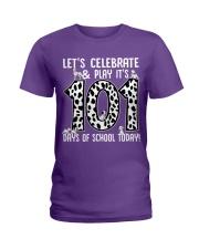 Teacher  - 101 Days of School Ladies T-Shirt thumbnail