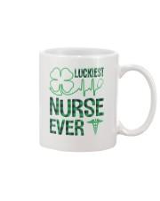 Luckiest Nurse Ever Mug thumbnail