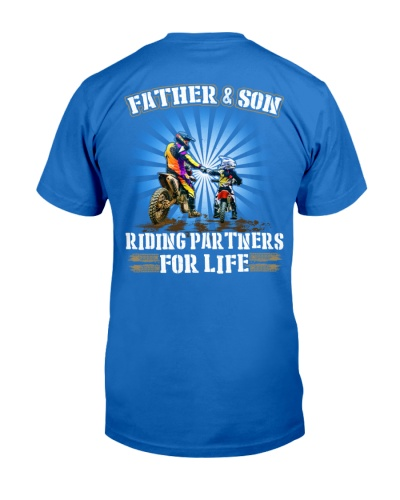 Father and Son - Riding Partners for life