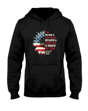 Firefighter - Your Life Is Worth My Time Hooded Sweatshirt thumbnail