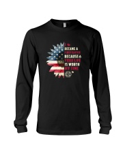 Firefighter - Your Life Is Worth My Time Long Sleeve Tee thumbnail