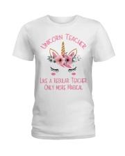 Unicorn Teacher - Magical Ladies T-Shirt thumbnail