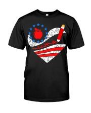 Teacher - Heart Classic T-Shirt front
