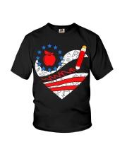 Teacher - Heart Youth T-Shirt thumbnail