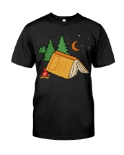 Book Camp Classic T-Shirt front