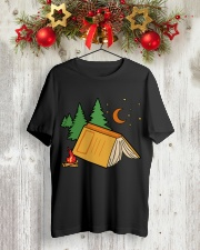 Book Camp Classic T-Shirt lifestyle-holiday-crewneck-front-2