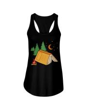 Book Camp Ladies Flowy Tank thumbnail