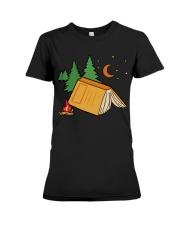 Book Camp Premium Fit Ladies Tee thumbnail