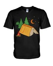 Book Camp V-Neck T-Shirt thumbnail