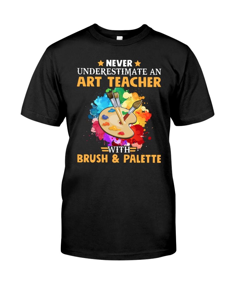 Art Teacher Underestimate Classic T-Shirt