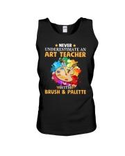 Art Teacher Underestimate Unisex Tank thumbnail