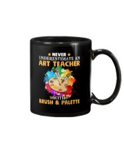 Art Teacher Underestimate Mug thumbnail