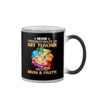 Art Teacher Underestimate Color Changing Mug thumbnail
