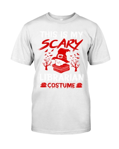 This Is My Scary Librarian Custume