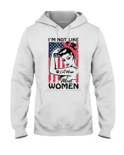 Cat Mom - I'm not like most Women Hooded Sweatshirt thumbnail