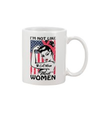 Cat Mom - I'm not like most Women Mug thumbnail