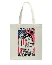 Nurse - I'm not most Women Tote Bag thumbnail