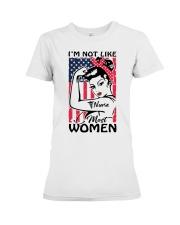 Nurse - I'm not most Women Premium Fit Ladies Tee thumbnail