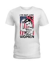 Nurse - I'm not most Women Ladies T-Shirt thumbnail