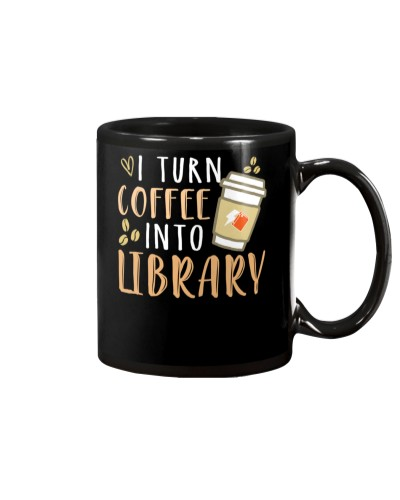 Librarian - Turn Coffee into Library