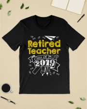 Retired Teacher Class of 2019 Classic T-Shirt lifestyle-mens-crewneck-front-19