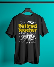 Retired Teacher Class of 2019 Classic T-Shirt lifestyle-mens-crewneck-front-3