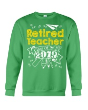 Retired Teacher Class of 2019 Crewneck Sweatshirt thumbnail