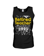 Retired Teacher Class of 2019 Unisex Tank thumbnail