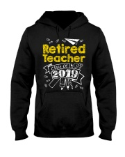 Retired Teacher Class of 2019 Hooded Sweatshirt thumbnail