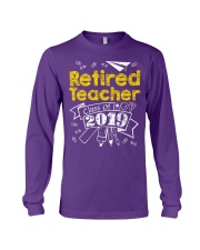 Retired Teacher Class of 2019 Long Sleeve Tee thumbnail