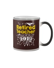 Retired Teacher Class of 2019 Color Changing Mug thumbnail