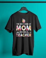 Teacher Best Kind of Mom Classic T-Shirt lifestyle-mens-crewneck-front-3