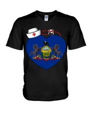 Nurse - National Nurse Week for Pennsylvania V-Neck T-Shirt thumbnail