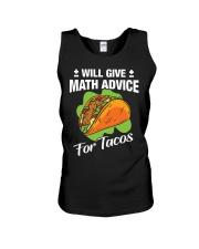 Math Teacher - Math Advice for Tacos Unisex Tank thumbnail