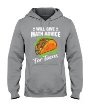 Math Teacher - Math Advice for Tacos Hooded Sweatshirt thumbnail