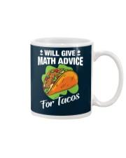 Math Teacher - Math Advice for Tacos Mug thumbnail