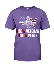 No Veteran No Peace Premium Fit Mens Tee thumbnail