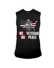 No Veteran No Peace Sleeveless Tee thumbnail
