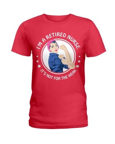 Retired nurse - not for weak