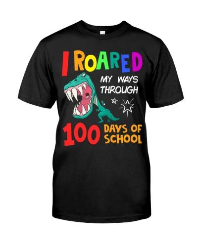 I roared my ways through 100 days of school