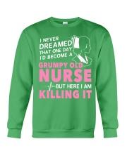 Grumpy Old Nurse Crewneck Sweatshirt thumbnail