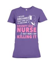 Grumpy Old Nurse Premium Fit Ladies Tee thumbnail