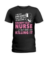 Grumpy Old Nurse Ladies T-Shirt thumbnail