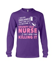 Grumpy Old Nurse Long Sleeve Tee thumbnail