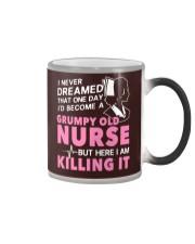 Grumpy Old Nurse Color Changing Mug thumbnail